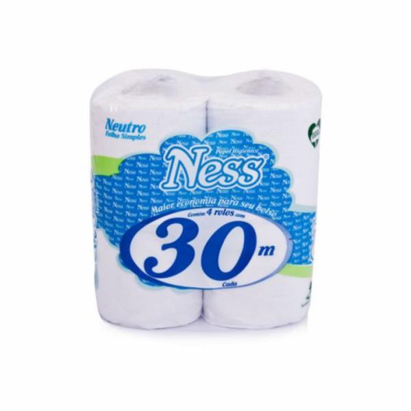 Papel Higiênico NESS Folha Simples  30m