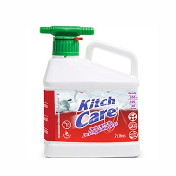 Detergente Desengordurante Kitch Care