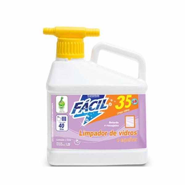 Limpador de Vidros Fácil 35