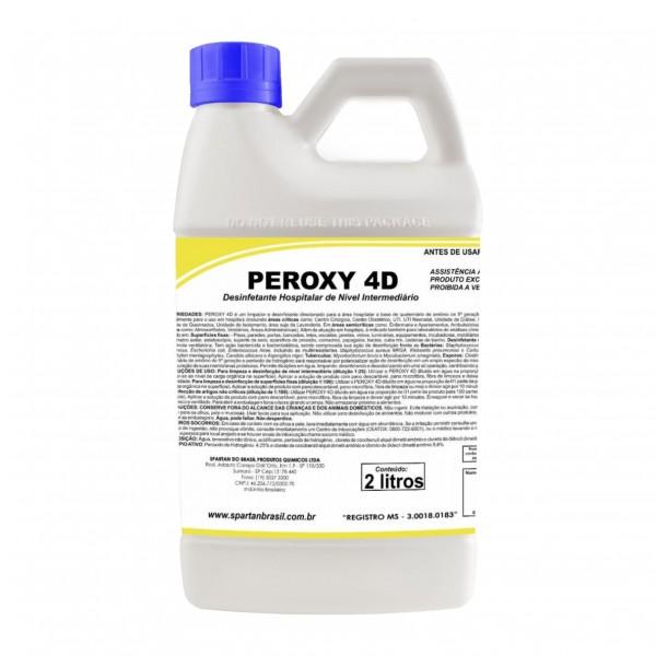 Desinfetante Hospitalar Peroxy 4D 2 litros